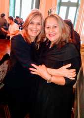 Lourdes Sprenger e Mônica Leal