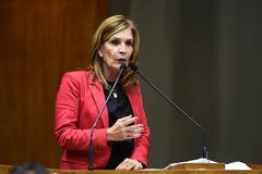 Presidente da Câmara, vereadora Mônica Leal (PP)