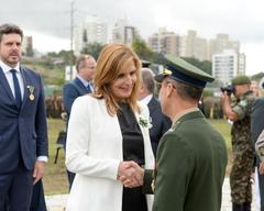 Vereadora Mônica foi uma das agraciadas na solenidade desta quarta-feira