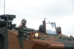 Presidente Mônica Leal participa da Cerimônia Militar alusiva ao Dia do Exército no 3º Regimento de Cavalaria de Guarda.