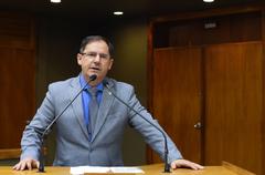 Vereador Hamilton Sossmeier destaca importância da prevenção ao câncer de próstata