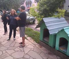 Vereadora Lourdes no bairro Jardim do Salso