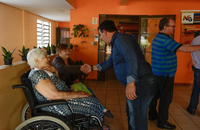 Comissão visita a Casa Lar do Cego Idoso.