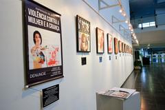 Exposição de arte Violência contra a mulher e a criança