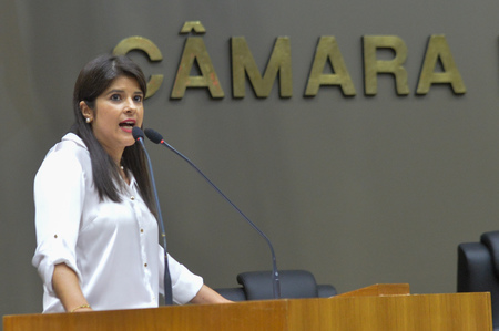 Vereadora suplente Fernanda Jardim (DEM)
