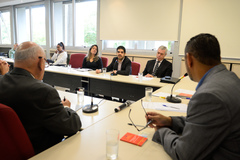 Reunião para discutir os serviços de Telemarketing, Internet e os Direitos Humanos, Cidadania e do Consumidor.
