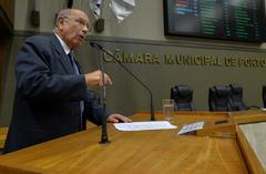 Presidente em exercício, Vereador Reginaldo Pujol, falou sobre a importância do projeto aprovado pela Câmara Municipal