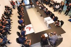 Presidente Mônica Leal participa de reunião da Frente Parlamentar em Defesa do Meio Passe.