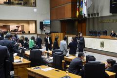 Plenário Otávio Rocha da Câmara Municipal (Foto arquivo)