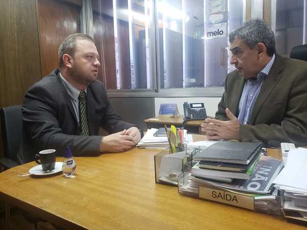 Carús visita o Deputado Estadual, Sebastião Melo.
