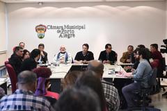Reunião sobre os espaços municipais da cultura.