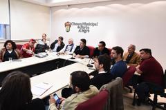 Uso de espaços municipais para a cultura foram discutidos na reunião da comissão