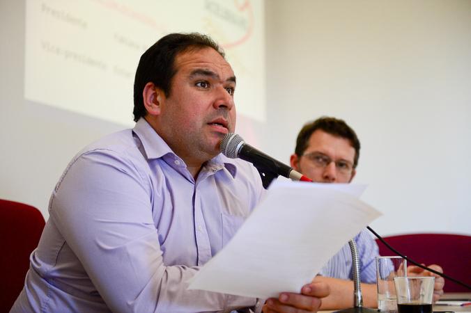 CEDECONDH debate sobre a proteção jurídica dos Celíacos em Porto Alegre. Na foto: Vereador Dr. Thiago Duarte.