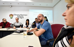 Luciano Zini (d) disse que padrão de limitação agrotóxica não é revisto desde 2011