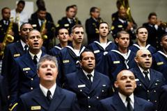 Membros da Marinha receberam homenagem da Câmara pelos 154 anos da força militar