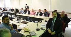 Esclarecimento sobre a situação educacional de Porto Alegre com o comparecimento do Secretario de Educação Sr.Adriano Naves de Brito.