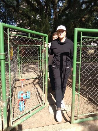 Vereadora Lourdes no Cachorródromo do Parcão