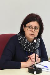 Suspensão dos vales assistenciais a estudantes com necessidades especiais. Na foto, representante da Smed, Cláudia Amaral.