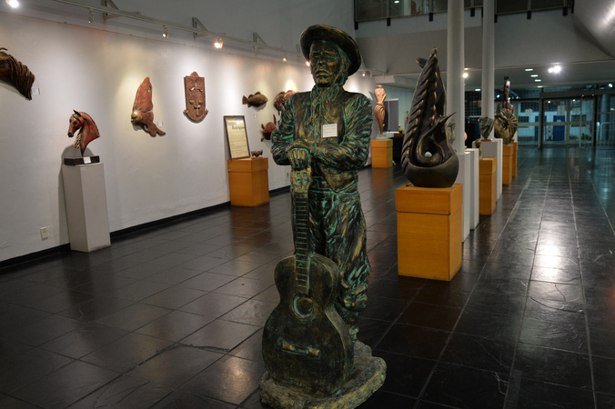 Exposição Itamor Rodrigues.
