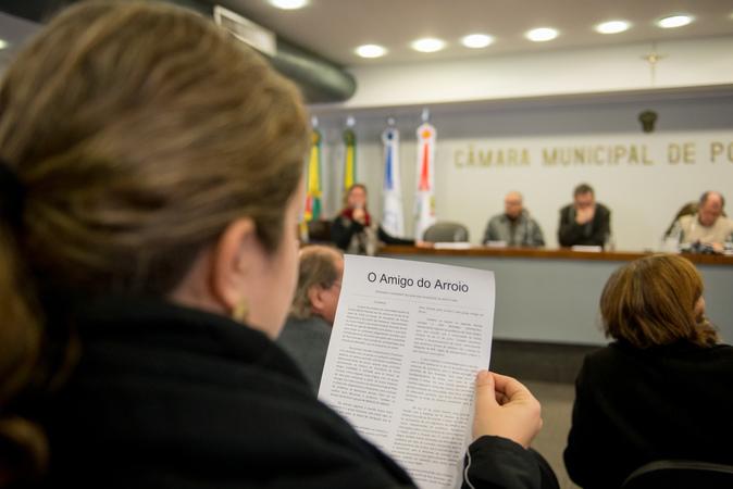 Comissão debate alagamentos no Bairro Cavalhada.