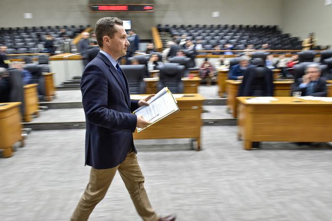 Movimentações em plenário