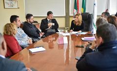 Presidente Mônica Leal recebe os representantes da União Gaúcha de Motoristas Autônomos.