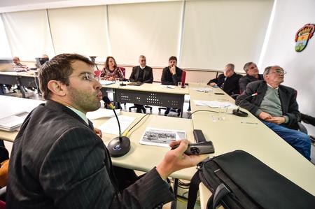 Leonardo Busatto explicou o projeto aos vereadores