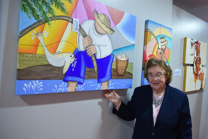 Exposição LoureArtes - Lourena Luiza Sonntag.