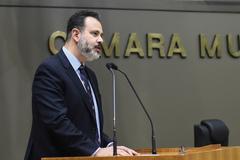 Vereador Ricardo Gomes (PP) é o autor do projeto