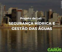 Projeto de Lei de segurança hídrica e gestão das águas em Porto Alegre