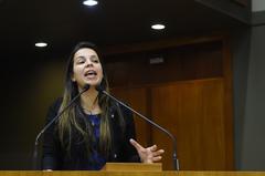Vereadora Fernanda Machado, suplente do PSDB