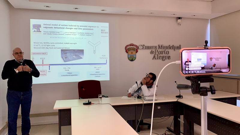 Frente Parlamentar em Defesa dos Direitos do Autista recebe Dr. Rudimar Riesgo