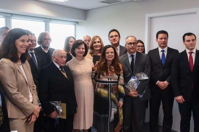 Participa de cerimônia de inauguração da nova sede do MPF no Rio Grande do Sul.