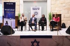 Evento foi formado por três palestras que destacaram história do semitismo