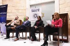 Presidente da Câmara Mônica Leal participa como mediadora no Seminário Diálogos Sionistas: Combate ao Antissemitismo.