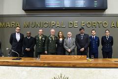 Período de Comunicações em homenagem ao Dia do Soldado.