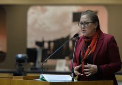Vereadora Lourdes é a segunda vice-presidente da Câmara