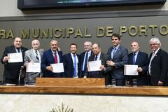 Homenagem aos corretores de imóveis foi proposta por Márcio Bins Ely (PDT)