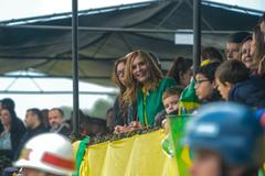 Presidente Mônica Leal acompanhou o desfile na manhã deste sábado
