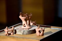 Mostra divulga trabalho em cerâmica produzido por 22 pessoas da comunidade