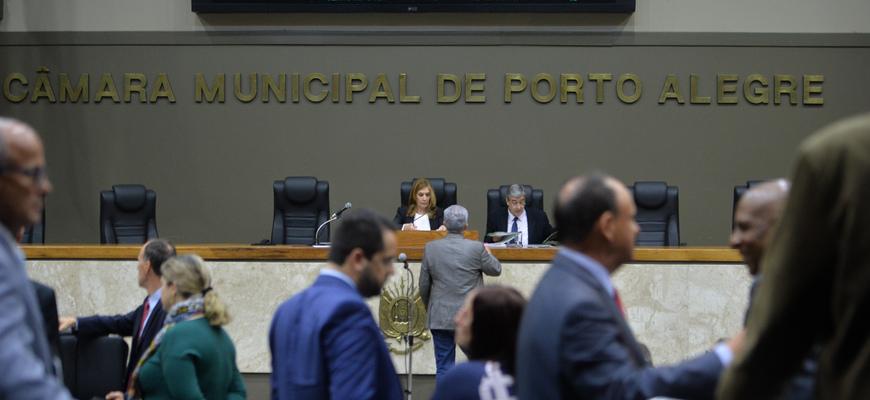 Plenário Otávio Rocha em dia de sessão