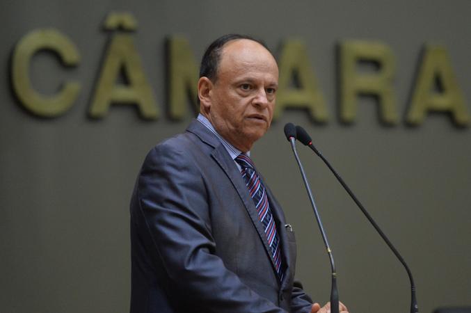 Movimentação de plenário. Na foto, vereador João Bosco Vaz.