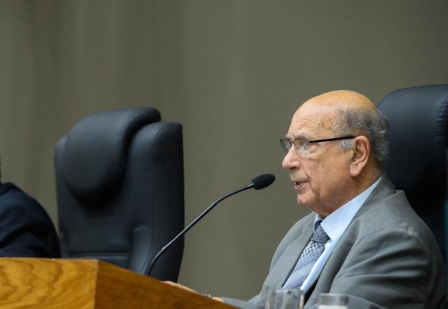 Movimentação de plenário. Na foto: vereador Reginaldo Pujol.