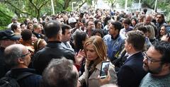 Presidente Mônica Leal (c) prometeu receber servidores