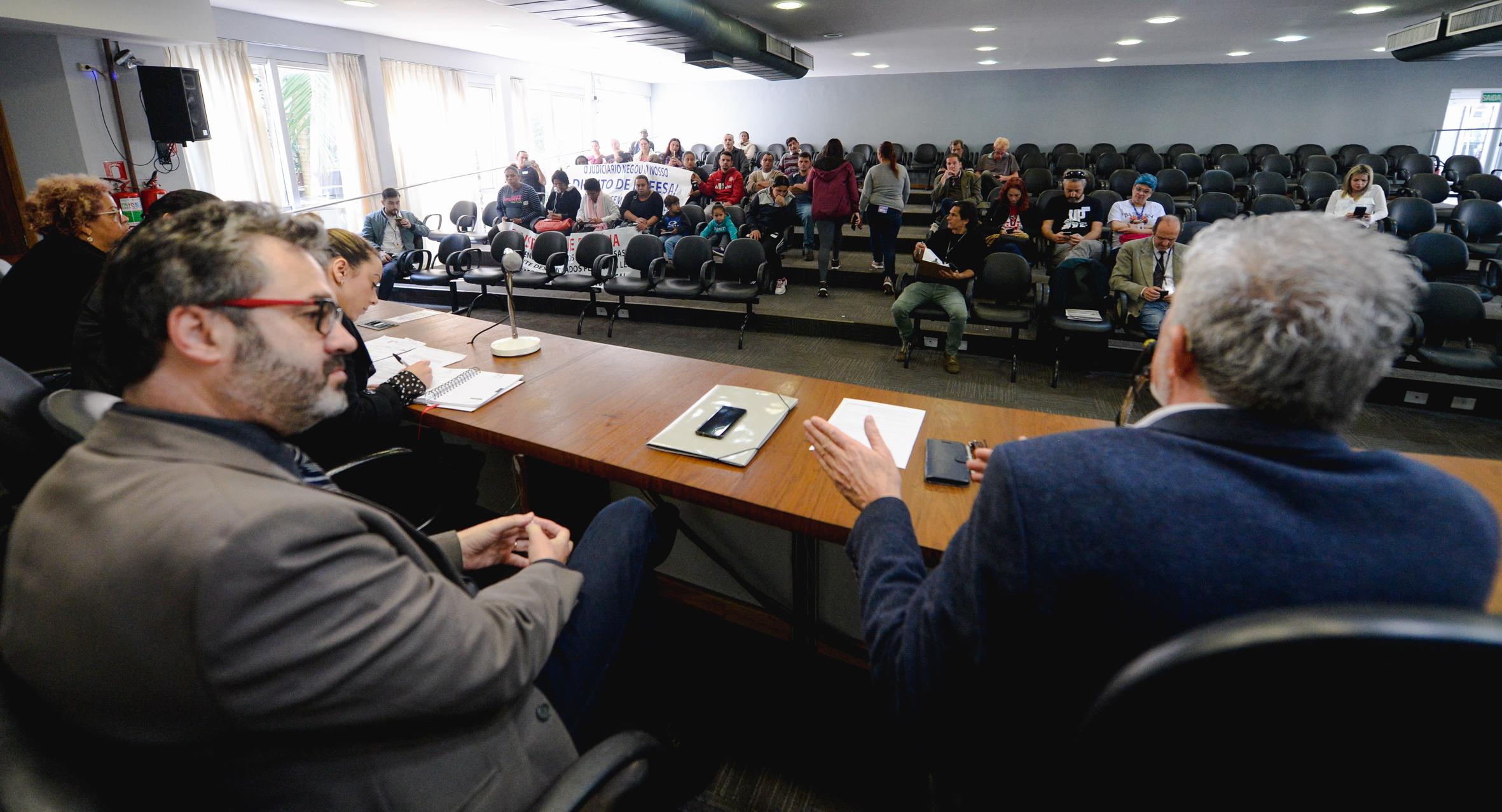 Cuthab se reuniu hoje para ouvir comunidade, prefeitura e Ministério Público