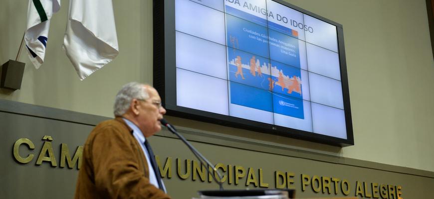 Lélio Falcão afirmou que a capital, entre cidades do Brasil, é uma das que melhor usa recursos do Fundo de Idosos