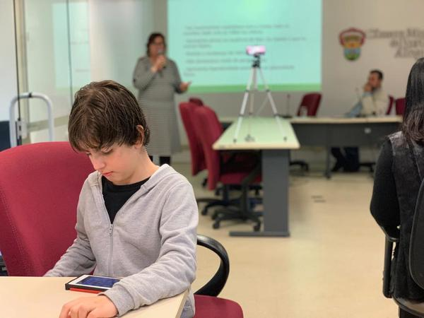 Frente discute Centro de Referência do Autismo (Foto: Patrícia Cordeiro)