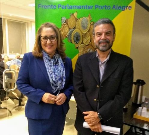 Frente Parlamentar recebe Marcelo Portugal