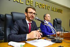 Presidente do CRESS, Agnaldo Knevitz pediu apoio da Câmara para garantir equipes e execução de serviço na Capital