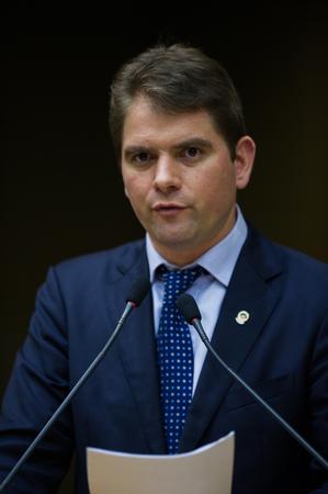 Vereador Márcio Bins Ely.